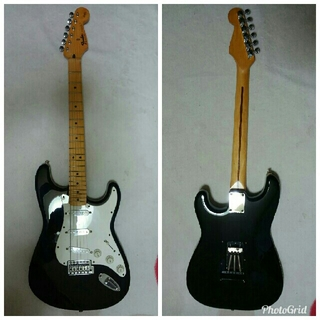 フェンダー(Fender)のfender mexフェンダーメキシコストラトキャスター スクワイヤーシリーズ(エレキギター)