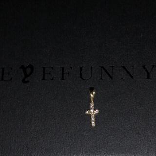 アイファニー(EYEFUNNY)のアイファニー スティンガークロスSS  ダイヤK18YG 86400円(ネックレス)