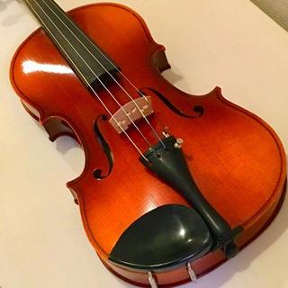 スズキ(スズキ)の《老舗》定番 スズキ バイオリン 1976年製 証明書ラベル付 メンテ済 値下げ(ヴァイオリン)