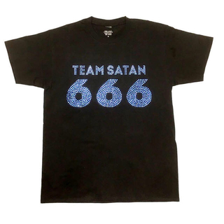 シックスシックスシックス(666)のteam Satan 666 tシャツ(Tシャツ/カットソー(半袖/袖なし))