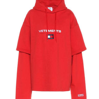 vetements tommy(パーカー)