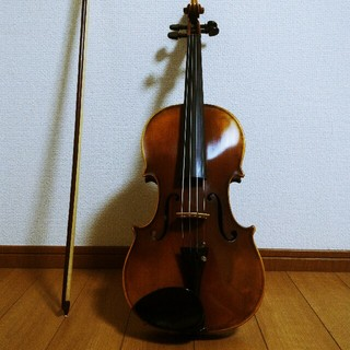 極希少【裏面一枚板虎杢】カールヘフナー 4/4 バイオリン(ヴァイオリン)