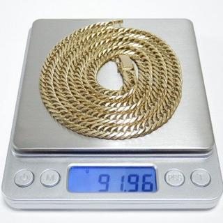 K18 喜平 8面トリプル 重量 約91.8g 長さ 約67.2cm(ネックレス)