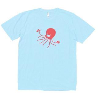 おもしろ Tシャツ 水色 503(Tシャツ/カットソー(半袖/袖なし))