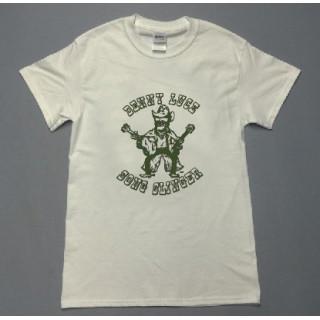 アメカジ ギターおじさん イラスト ロゴ 半袖Tシャツ utn5(Tシャツ/カットソー(半袖/袖なし))