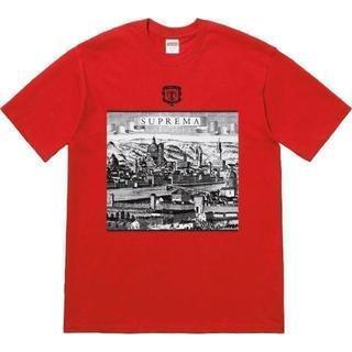 シュプリーム(Supreme)のSupreme Fiorenza Tee 赤M(Tシャツ/カットソー(半袖/袖なし))