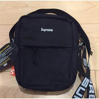 シュプリーム(Supreme)の送料無料 18ss Supreme Shoulder Bag 黒(ショルダーバッグ)