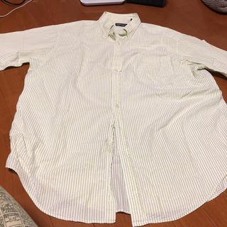 ランズエンド(LANDS'END)のランズエンドのシアサッカーシャツです。300円値下げしました。(シャツ)