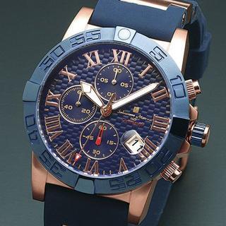 サルバトーレマーラ(Salvatore Marra)の正規品 Salvatore Marra SM17111-PGBL メンズ腕時計(腕時計(アナログ))