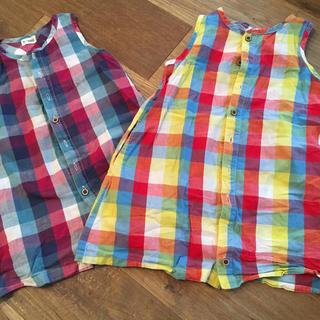 ターカーミニ(t/mini)のT mini シャツ チュニック セラフ グローバルワーク(Tシャツ/カットソー)