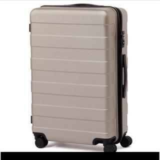 ムジルシリョウヒン(MUJI (無印良品))の無印良品 キャリーケース 62L(スーツケース/キャリーバッグ)