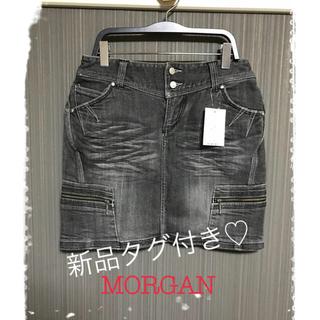 モルガン(MORGAN)の◻️【新品タグ付き】MORGAN ★ デニムスカート(ミニスカート)