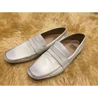 アスビー(ASBee)のメンズ 白い靴  【FOB ASBee】(ドレス/ビジネス)