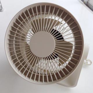 MUJI (無印良品) - 無印良品 サーキュレーター 扇風機 AT-CF18R-W