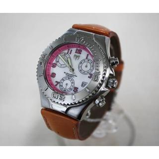 テクノマリーン(TechnoMarine)のテクノマリーン 腕時計 クロノグラフ 電池交換品 ユニセックス♪(腕時計)