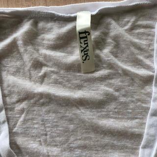 エルエヌエー(LnA)のfLuxus sizeS ホワイト Vネック tee(Tシャツ(半袖/袖なし))