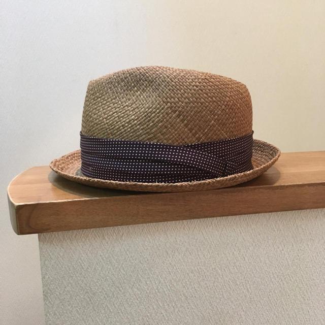DELUXE(デラックス)のDELUXE ストローハット 麦わら帽子 メンズの帽子(その他)の商品写真