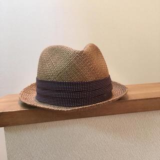 デラックス(DELUXE)のDELUXE ストローハット 麦わら帽子(その他)