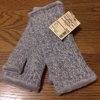 ムジルシリョウヒン(MUJI (無印良品))の無印良品 ハンドウォーマー 新品(手袋)