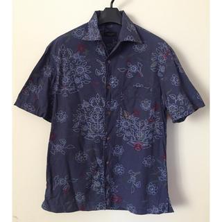 ジョゼフ(JOSEPH)のジョセフ JOSEPH HOMME シャツ 花柄 ボタニカル アロハシャツ (シャツ)