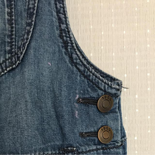 babyGAP(ベビーギャップ)のbabyGAP  サロペット  95 キッズ/ベビー/マタニティのキッズ服 女の子用(90cm~)(ワンピース)の商品写真