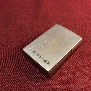 ジッポー(ZIPPO)のZIPPO ジッポー コムサデモード コラボ ライター 正規品(タバコグッズ)