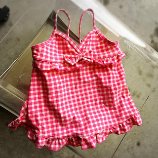 オレンジボンボン(Orange bonbon)のベビー・女の子・水着 90㎝ ピンク(水着)