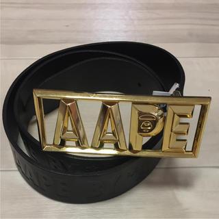 アベイシングエイプ(A BATHING APE)のレア♪【A BATHING APE AAPE】エイプ ベルト バックル(ベルト)