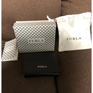 0aaa87521399 Furla - 美品訳ありフルラバビロンオニキス小さい財布の通販 ラクマ