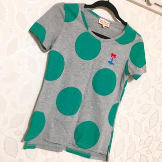 ヴィヴィアンウエストウッド(Vivienne Westwood)のviviennewestwood  ビッグドットTシャツ(Tシャツ(半袖/袖なし))