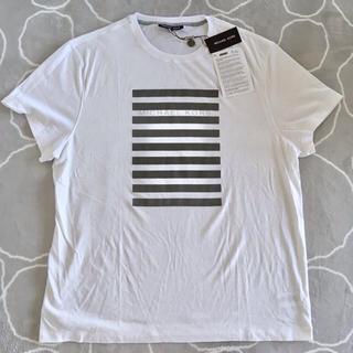 マイケルコース(Michael Kors)の★新品未使用★MICHAEL KORS 白Tシャツ【XXL】(Tシャツ/カットソー(半袖/袖なし))