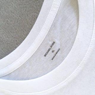 マイケルコース(Michael Kors)の★未使用★MICHAEL KORS 白Tシャツ【XL】(Tシャツ/カットソー(半袖/袖なし))