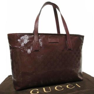 グッチ(Gucci)の正規 美品 グッチ A4収納可 GG インプリメ ショルダー トート バッグ(トートバッグ)