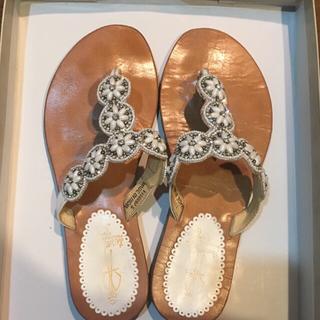 アシナガオジサン(あしながおじさん)のあしながおじさん ぺたんこ靴 サンダル(サンダル)