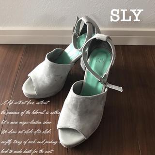 スライ(SLY)のSLYサンダル♡(サンダル)