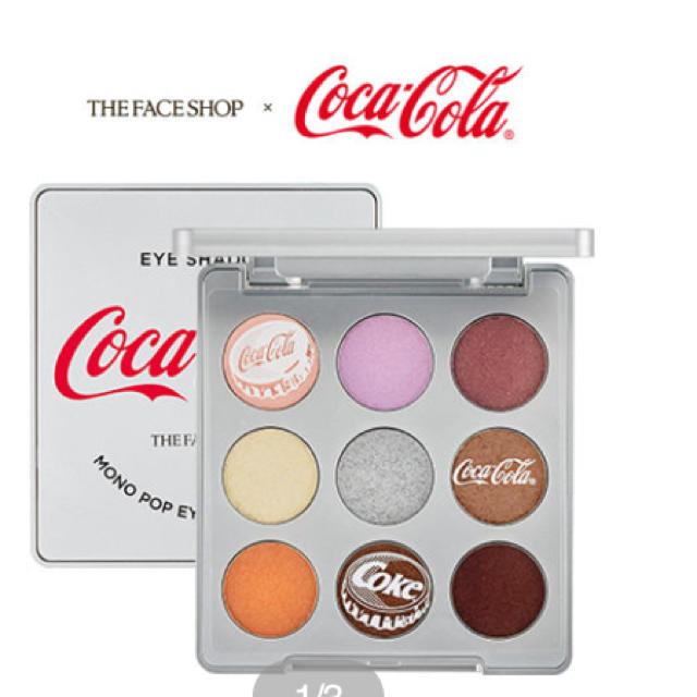THE FACE SHOP(ザフェイスショップ)のコカコーラ コラボ フェイスショップ コスメ/美容のベースメイク/化粧品(アイシャドウ)の商品写真