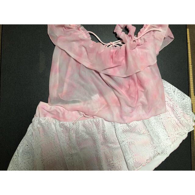 ノアンヌ 水着 大きいサイズ 19号 5L 5点セット レディースの水着/浴衣(水着)の商品写真