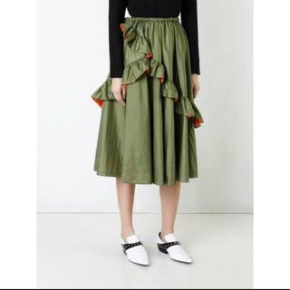 ジーヴィジーヴィ(G.V.G.V.)の定価64800円 ナイロンフレアスカート(ロングスカート)