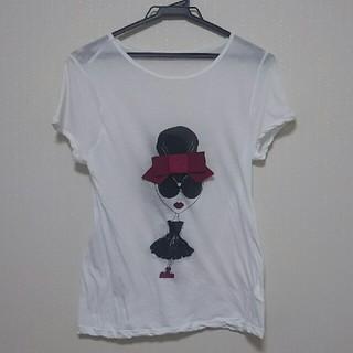 アリスアンドオリビア(Alice+Olivia)のアリスアンドオリビア ステイシーTシャツ M/L(Tシャツ(半袖/袖なし))