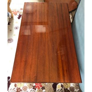 ☆一枚板テーブル☆美品☆ 一枚板 座卓 無垢 銘木 天然木(ローテーブル)