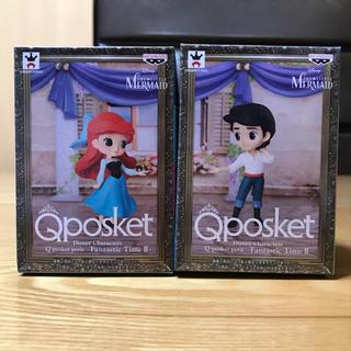 ディズニー(Disney)のQposket petit FantasticTimeⅡ アリエル エリック王子(フィギュア)