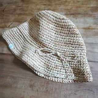 エーキャンビー(A CAN B)のAcanB 麦わら帽子 48サイズ(帽子)
