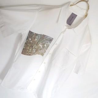 インフルエンス(Influence)の★INFLUENCE フォトプリント デザインシャツ(シャツ)