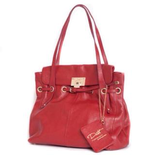 ディス(Dith)のDith▷赤 bag バッグ トート(トートバッグ)
