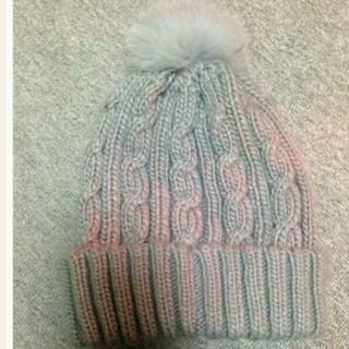 マウジー(moussy)のマウジーニット帽(ニット帽/ビーニー)
