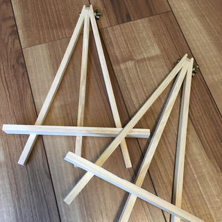 イーゼル 木製 新品 未使用(イーゼル)