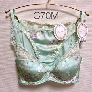 トリンプ(Triumph)の【C70M】トリンプ Dress 高級イタリアサテン ブラ&ショーツ(ブラ&ショーツセット)