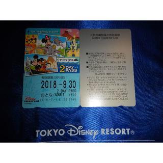 ディズニー(Disney)のディズニーリゾートライン 2日フリーきっぷ(おとな)(鉄道乗車券)