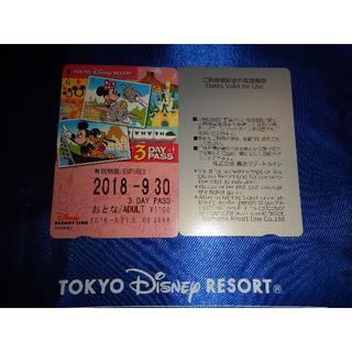 ディズニー(Disney)のディズニーリゾートライン 3日フリーきっぷ(おとな)(鉄道乗車券)