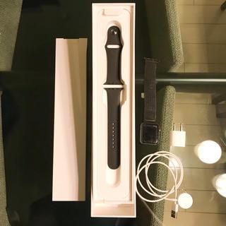 アップルウォッチ(Apple Watch)のApple Watch シリーズ 2 スペースグレイ 42mm アップルウォッチ(腕時計(デジタル))